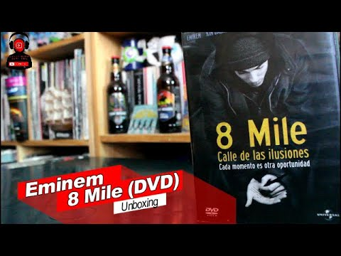 8 Mile DVD Unboxing