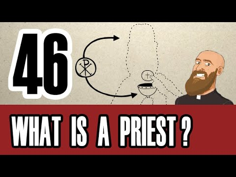 3MC – 3 Minute Catechism – (English) Episode 46 – What are Catholic Priests?