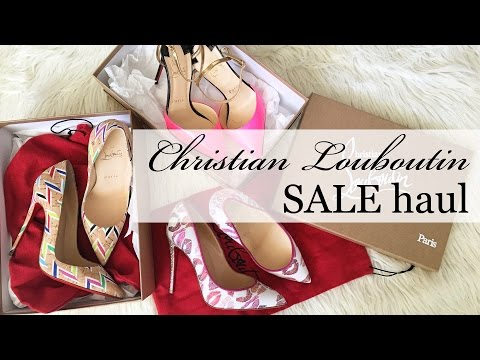 How to get designer shoes on sale + my Louboutin sale haul
