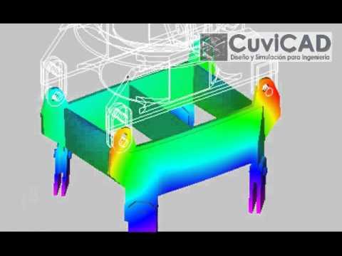 Cálculo Estructural - CUVICAD Diseño y Simulación para Ingeniería - Servicio de Cálculo Mecánico Estructural FEM por Software de Elementos Finitos Web: http://www.cuvicad.com Emai...