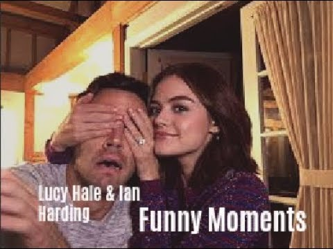 Ian Harding & Lucy Hale Funny Moments