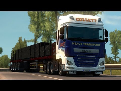 Heavy Haulage Chassis Addon for DAF XF Euro 6 1.28.x