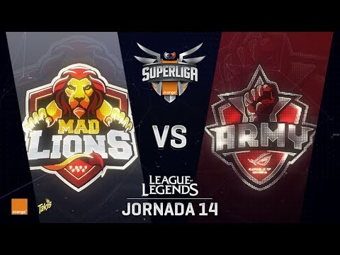 MAD LIONS VS ASUS ROG ARMY | Superliga Orange J14 | Partido 2 | Split Verano [2018]