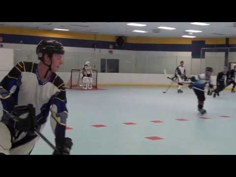 What A Goal! (Roller Hockey Goal – Ethan O'Brien) Roller Hockey Skills Tricks Moves Drills Shots