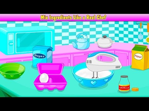 Bake Cupcakes - Excellent An Easy Cooking Games - Cooking Is Fun And This Game Is Ideal For Kids