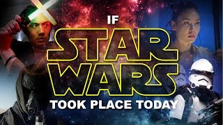 Video If Star Wars Took Place Today! MP3, 3GP, MP4, WEBM, AVI, FLV Maret 2019