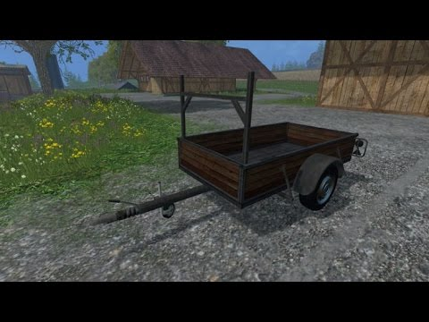 Single Axle Trailer v1.1