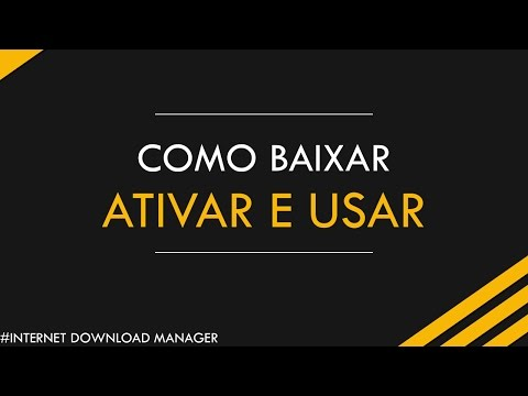 Como BAIXAR,INSTALAR, ATIVAR e USAR o Internet Download Manager ( IDM ) (видео)