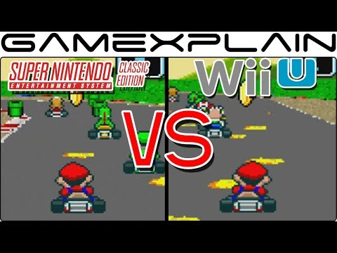 Super NES Classic vs Wii U Virtual Console - Head-to-Head Emulation Comparison