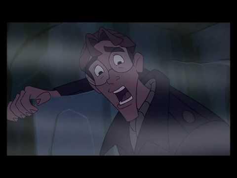 Atlantis: Milo's Return - Clip #1 (With PS1 Falling Noises)