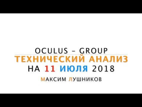 Технический анализ рынка Форекс на 11.07.2018 от Максима Лушникова - DomaVideo.Ru