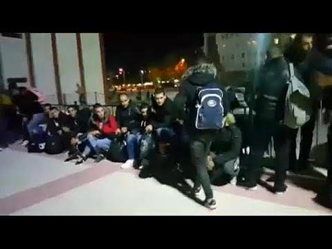 Συλλήψεις μεταναστών στα σύνορα με την Ελλάδα