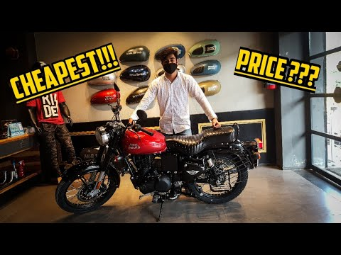 Cheapest!!! BS6 ROYAL ENFIELD BULLET 350cc ELECTRA ES RED | GIVEAWAY RESULT | DETAILED REVIEW | #MxK