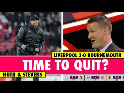Huth Wanted To Quit After Playing Klopp's Team | Liverpool 3-0 Bournemouth | Astro SuperSport