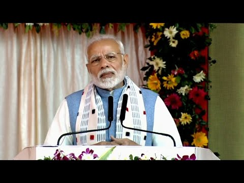 PM Modi launches projects worth over Rs. 1,550 crore in Odisha
