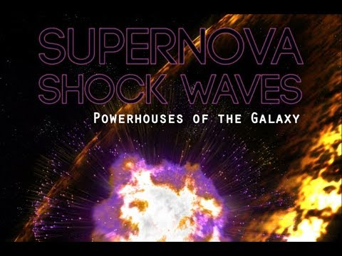 Supernova Shock Waves-Powerhouses of the Galaxy