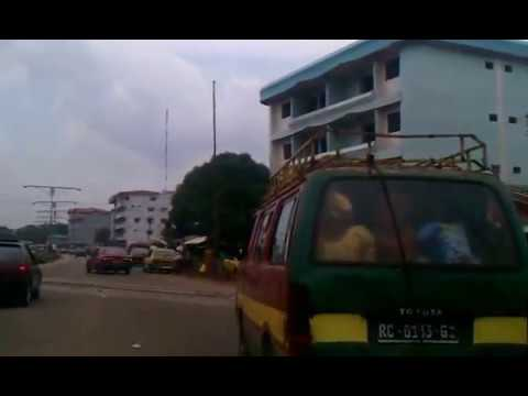 Conakry - riding thru conakry guinea.