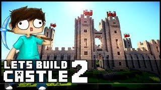 Minecraft Lets Build: Castle - Part 2