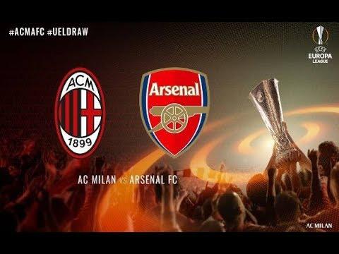 ARSENAL FC VS AC MILAN 3-1 | 15/03/2018 |UEFA Europa League 2017/2018