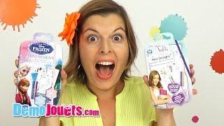 Video (ACCESSOIRES) La Reine des Neiges Violetta Disney Carnet Styliste IMC Toys - Démo Jouets MP3, 3GP, MP4, WEBM, AVI, FLV Juli 2017