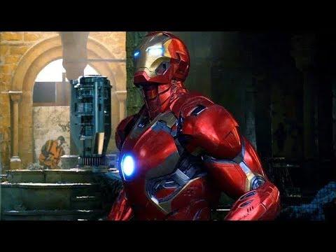 Avengers vs Ultron Mark 45 | Battle of Sokovia | Avengers Age of Ultron (2015)