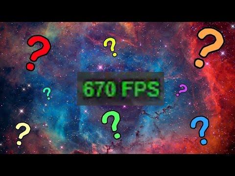 新設定? 600+ FPS
