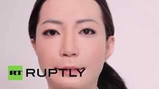Video Japan: Ultra-realistic female robot reads the news MP3, 3GP, MP4, WEBM, AVI, FLV Agustus 2017