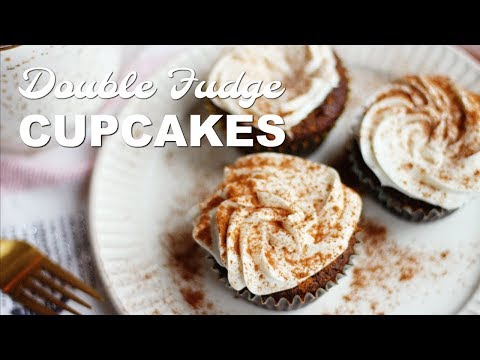 How To Make Double Fudge Brownie Cupcakes