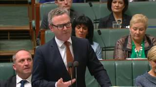Question from the Member for Corangamite to the Minister for Defence Industry how the government's investment in defence industry will generate thousands of jobs for hardworking Australians, create a stronger economy and ensure our national security; and how Victoria will benefit from the largest military build-up in our peacetime history.