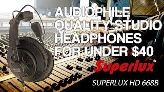 Video Best Studio Headphones Under $40 or $50 - Superlux HD 668B Review MP3, 3GP, MP4, WEBM, AVI, FLV Juli 2018