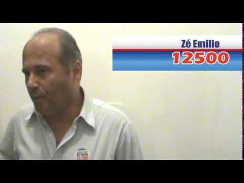 Candidato Zé Emilio 12500 em Pirauba