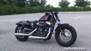8. Used 2013 Harley Davidson Sportster Forty-Eight Motorcycles for sale