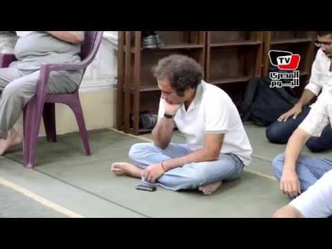 حمزاوي وحرارة وبلال فضل أبرز الحضور في عزاء أحمد سيف الإسلام