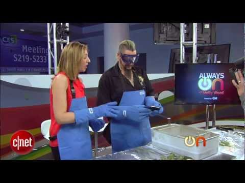Always On : Torture-test highlights: iPad gets dunked in liquid nitrogen!