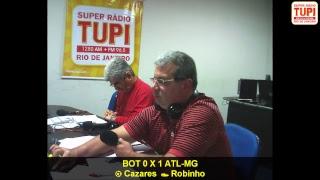 Fogão vai até o estádio Independência pegar o galo mineiro pelas quartas da Copa do Brasil! Jogo de ida que a TUPI vai...