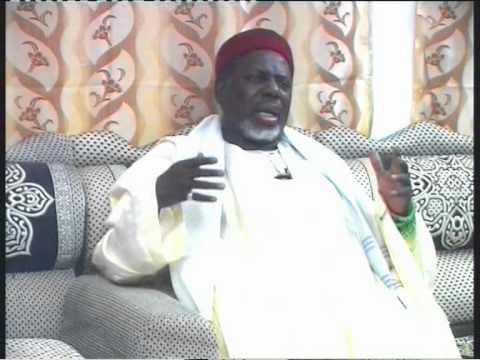 Baye Niasse. Emission télévisée  d'Imam Hassane Cissé