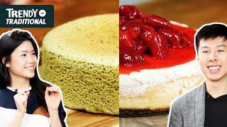 Trendy Vs. Traditional: Cheesecake • Tasty by Tasty