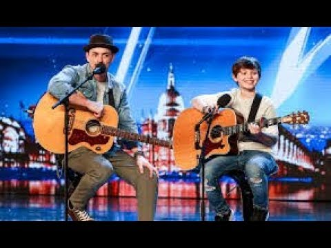 Father and Son Duo Tim and Jack | ALL Performances Britain's Got Talent