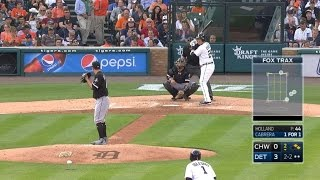 Miguel Cabrera drives a ball off the wall in left field, plating two runs for the 1000th extra-base hit of his career Check out ...