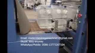 Wrap shrink packing machine