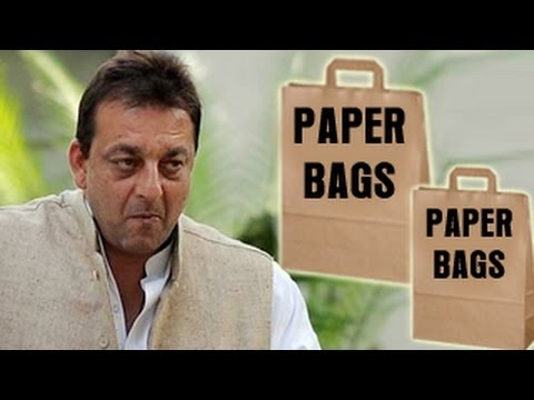 Sanjay Dutt to make paper bags in JAIL