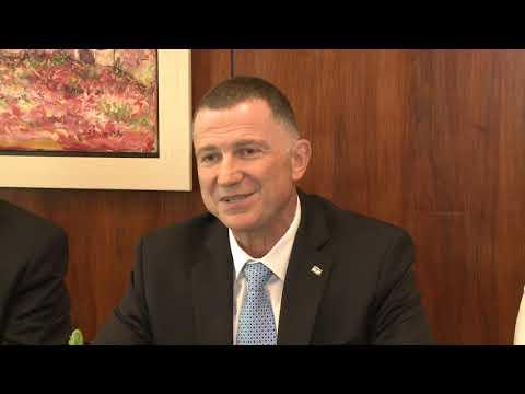 Președintele Republicii Moldova a avut o întrevedere cu Președintele Knessetului