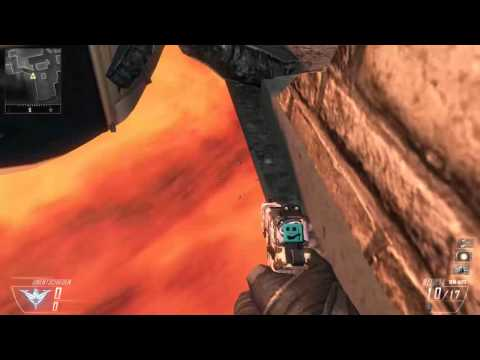 Black Ops II Magma Under the map Glitsch (видео)