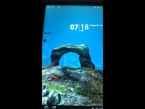 Video of Ocean Aquarium 3D Wallpaper