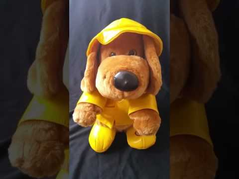 Singing In The Rain Musical Animated Plush Dog Beverly Hills Teddy Bear Co