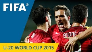New Zealand 2015: A wild match with fine goals to begin and the match for the Portuguese. More U-20 World Cup highlights: http://www.youtube.com/playlist?lis...