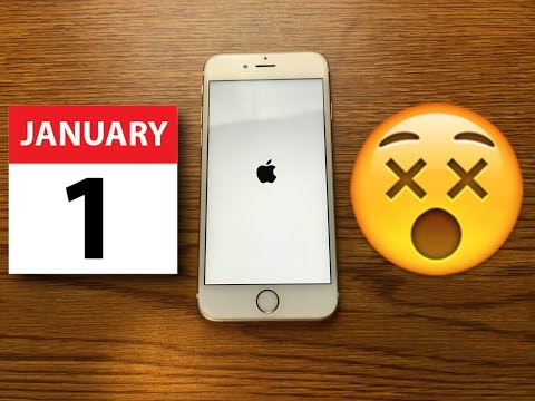 WATCH: Do Not Try At Home!  This DATE will Kill your iPhone!