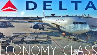 Delta Airlines ECONOMY CLASS London to AtlantaBoeing 767-400