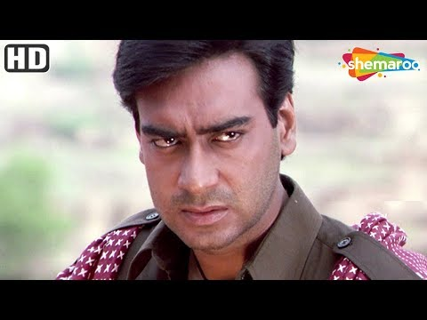 Ajay Devgan scenes from Kachche Dhaage - Saif Ali Khan - Manisha Koirala - Hit Action Movie