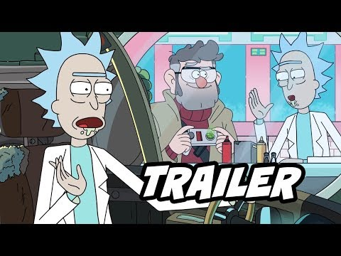 Rick And Morty Season 4 Special Episode Easter Eggs And Commentary Trailer